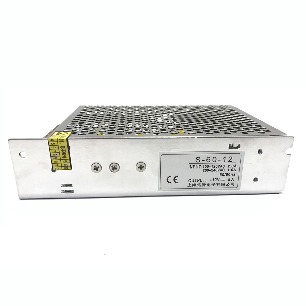AC 110/220V to DC 48V 60W 1.25A Single Output Switching Mode Power Supply SMPS Lighting Voltage Transformer For LED Strip Driver