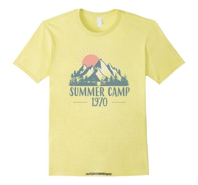 0c93abb7 Men Funny T Shirt Women Cool tshirt Retro Summer Camp 1970 Vintage T-Shirt