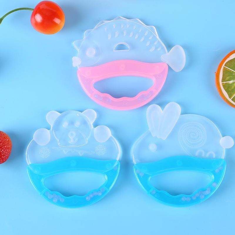 Newborn Baby Teether Silicone Teeth Training Tool Kids Dental Oral Care Tool Infant Teething Chew Molar Toy Baby Pacifier Care
