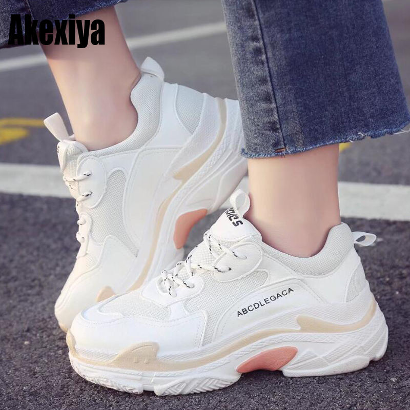 Brand Super Soft Winter Fur Sneakers White Women Lace-up Flats Shoes