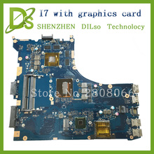 For ASUS GL552JX ZX50J laptop motherboard GL552JX mainboard rev2.0  i7 cpu onboard with Graphics card