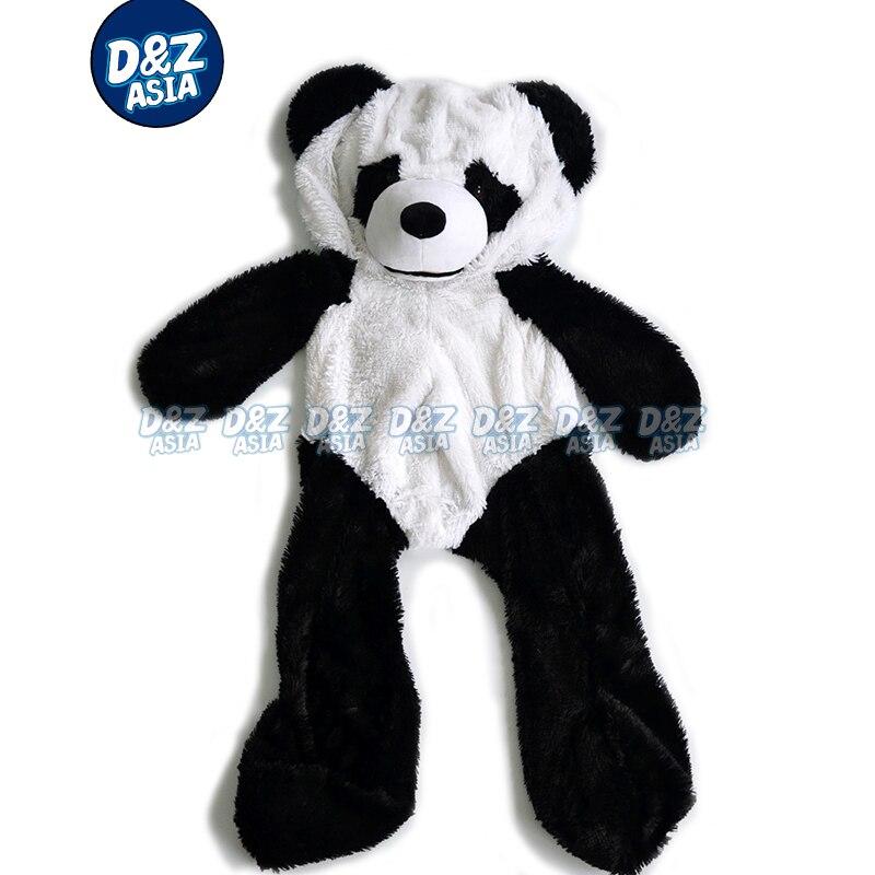 b4eb9f0738 Wholesale panda lovers teddy bear plush shell panda skins empty coat PANDA plush  toy skin unstuffed