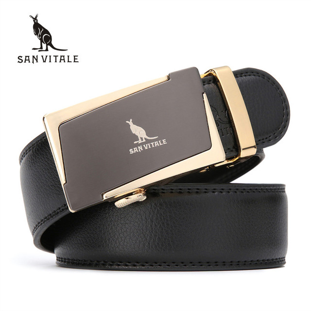 2017 moda de nueva Marca hombres cinturones de cuero real de los hombres masculino cinturón cinturones de diseño de lujo para la ropa de alta calidad libre gratis