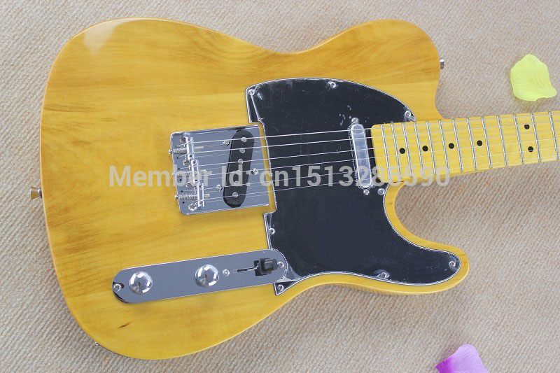 free shipping top quality lower price tel natural color guitars tl electric guitar in stock in. Black Bedroom Furniture Sets. Home Design Ideas
