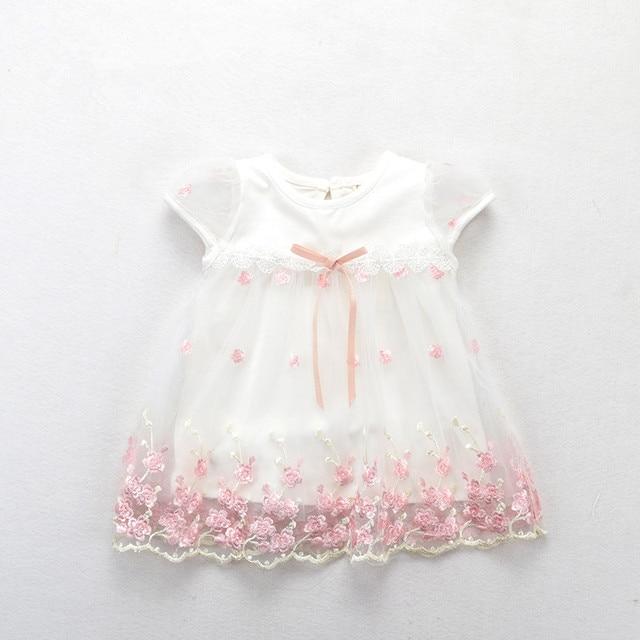 תינוק בנות שמלת 2019 חדש קצר שרוול יילוד שמלות עבור תינוק בנות קיץ מסיבת יום הולדת שמלת תינוק בגדי 0- 2 T