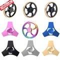 11.11 Tri Fidget Spinner Metal UFO Spiner Toys EDC Hand Spiner High Speed Wheel Finger Spinner Toys for Anxiety Stress Kids Gyro