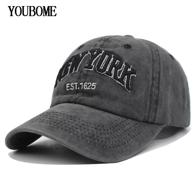 a74cef04376 YOUBOME Men Snapback Baseball Caps Cotton Women Brand Hats Cap For Men  fitted Embroidery Vintage Casquette Bone Dad Casual Caps