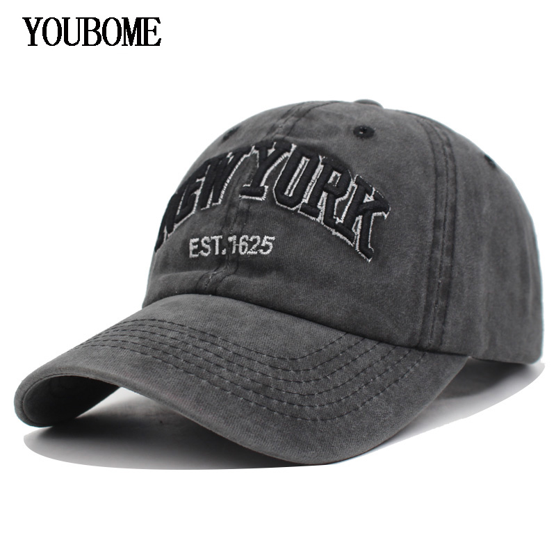 YOUBOME Men Snapback   Baseball     Caps   Cotton Women Brand Hats   Cap   For Men fitted Embroidery Vintage Casquette Bone Dad Casual   Caps