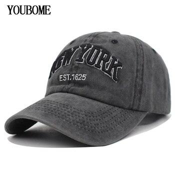 YOUBOME hombres Snapback gorras de béisbol algodón mujeres marca sombreros  gorra para hombres equipada bordado Vintage Casquette papá casquillos  ocasionales 05a5c2f5475