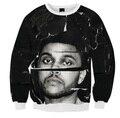 5 Styles Real USA Size 3D Sublimation print Crewneck Sweatshirts THE WEEKND MOCK The Weeknd Xo streetwear plus size