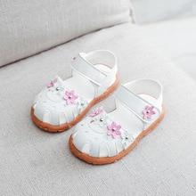 ULKNN/детская пляжная обувь на мягкой плоской подошве; детские сандалии; Новинка года; летние сандалии для девочек; baotou; детская модная обувь принцессы