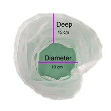 filter bag 2pcs 15*10cm nylon type food grade for home brew beer wine brewing milk tea juice making fish tang