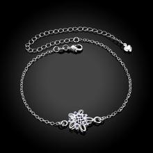 Wholesale New Fashion Women Fine Jewelry Woman Zircon Anklets Bracelet Female Foot Chain YMW-ZD062