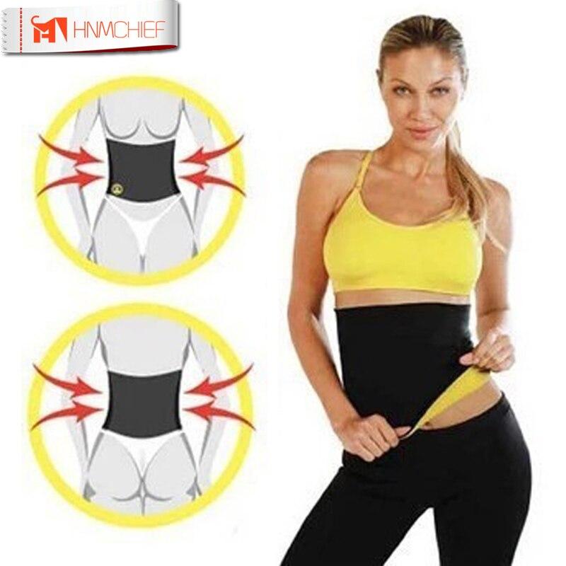 2017 Hot Neoprene Slimming Waist Belts Cinchers Body Shaper Slimming waist corsets Plus Size bodysuit women
