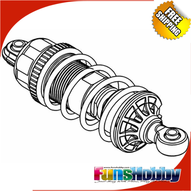 MCD Racing XS5 F/R FT Shock Absorber Assy.COD.322001X