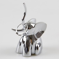 Love Baby Elephant Calf Elephant Ring Holder