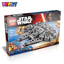 Inventory 79211 05007 1381PCS Star Wars Force Awakens Model Building Kits Rey Minifigure Blocks Bricks Compatible Toy Gift Legoe