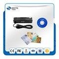 HOT! Portátil USB mini Leitor de cartão de Tarja Magnética 3 faixas + IC Card reader/escritor + RFID Leitor de Cartão Combo impressão digital com SDK livre