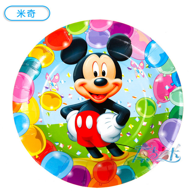Free shipping 60 pcs cartoon mickey mouse Minnie Spider-man Car Toys story 7\u0027  sc 1 st  AliExpress.com : mickey mouse cake plates - pezcame.com