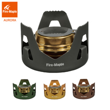 лучшая цена Fire Maple Outdoor Alcohol Stove Ultralight Liquid Solid Fuel Stove Portable Camping Hiking Sports Stove  FMS-122