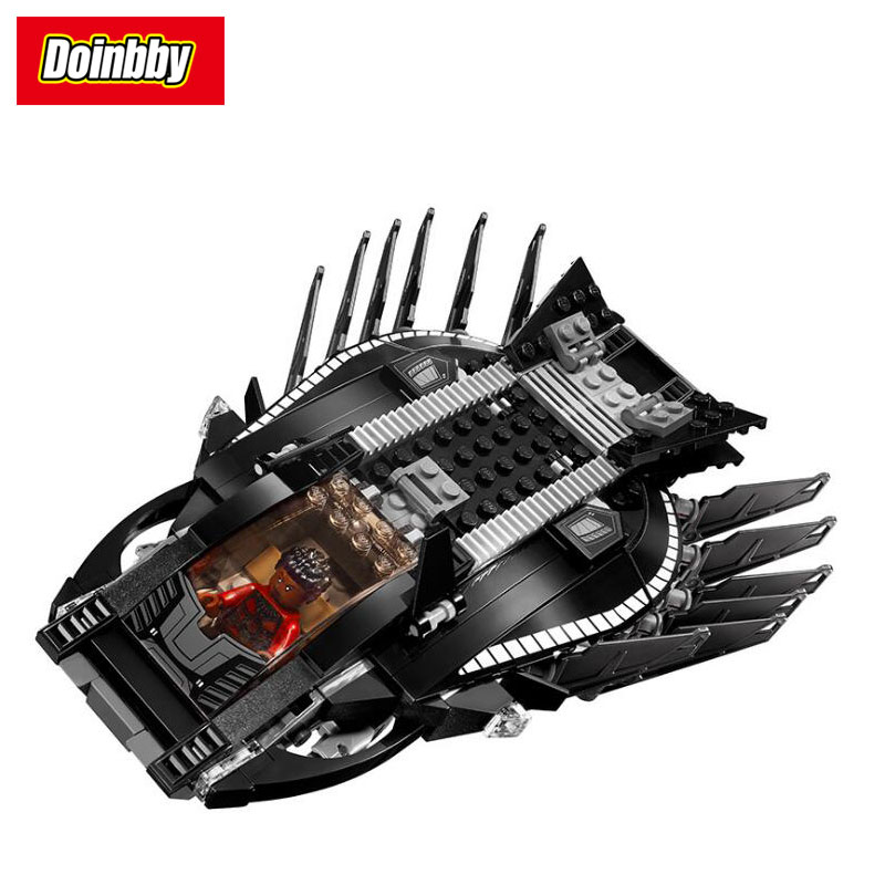 Royal Talon Fighter Attack DC Super Heroes Movie Building Bricks Blocks Toys Compatible Legoings Black Panther 76100 single sale the avengersr building blocks killer croc dolls super heroes black panther hulk black widow chrom vision kids toys