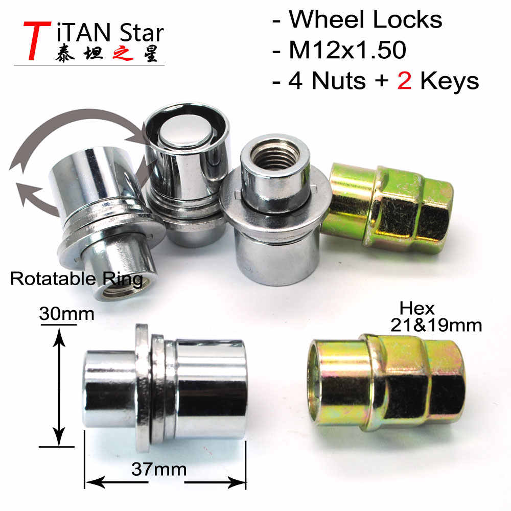 Precision Chrome Locking Alloy Wheel Nuts for Ḿitsubishi Pajero PN.SFP-N11446
