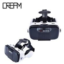 Plug-in VR Boss VRกล่องแว่นตา3dเสมือนจริง1080จุด-2พันHDใช้5.5-6.5นิ้วมาร์ทโฟนสำหรับการเล่นเกมนาฬิกาmovice
