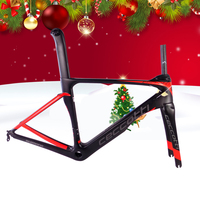 2018 New Carbon Fiber Road Frame Di2 AND Mechanical Carbon Road Frame With Ceccotti Brand Bicycle