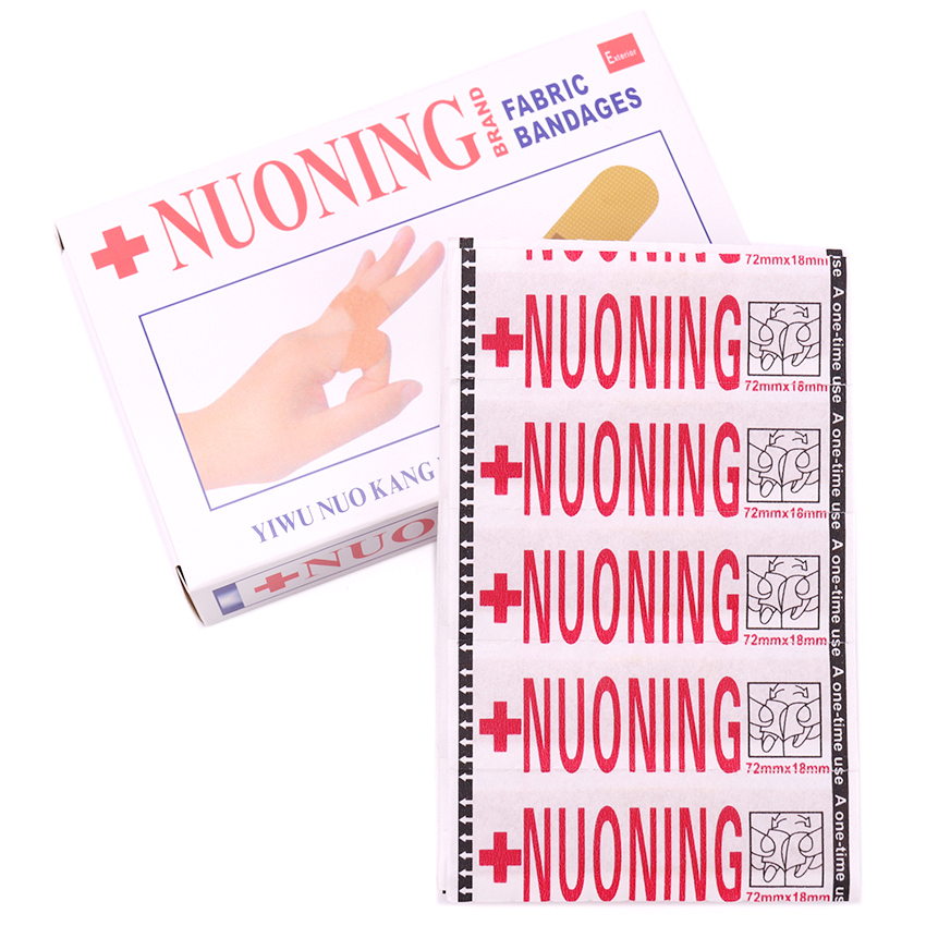Chinese Medicine Qualified 100pcs/box Band Aid Wound Dressings Sterile Hemostasis Stickers Adult Children First Aid Bandage Heel Cushion Adhesive Plaster Beauty & Health