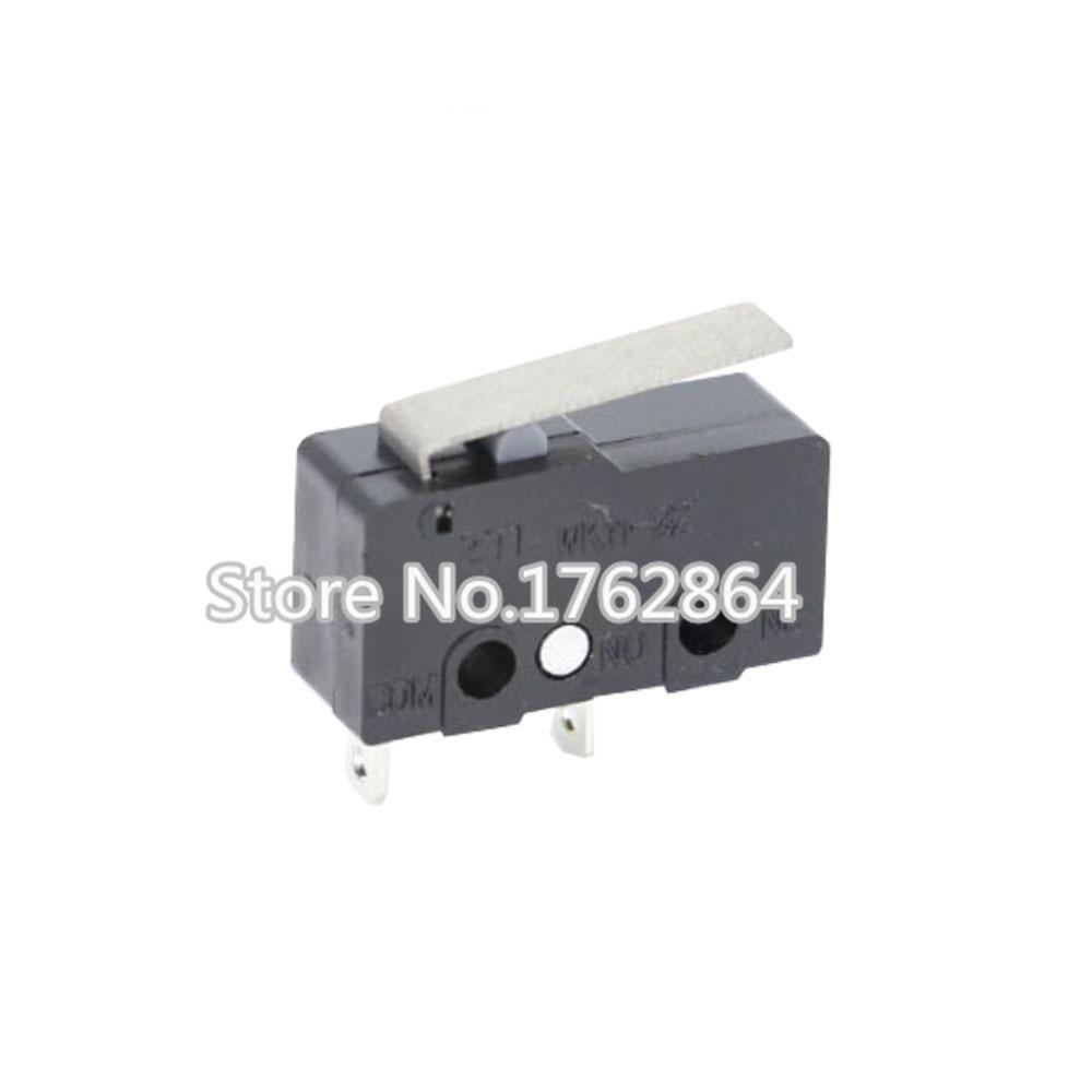 10 шт. концевой выключатель 2Pin n/o n/c 5A250VAC Микровыключатель KW11-3Z мини-микро-переключатель оригинальные продаж