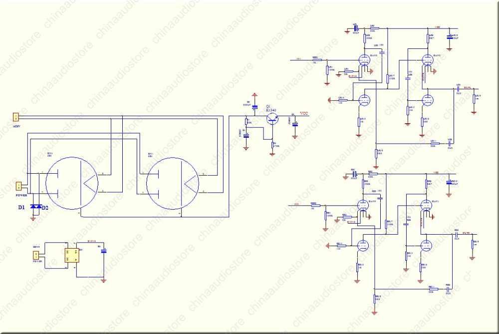 12AX7 ECC83 12AU7 ECC82 Tube Preamplifier Preamp Refer Wada Shigeho S Classic Circuit Improved From Marantz 7 For Hi Fi Audio