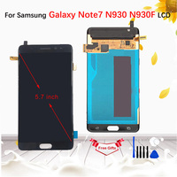 5.7AMOLED LCD For Samsung Galaxy Note7 Note 7 FE N930 N930F LCD Display touch screen digitizer Assembly For Samsung Note 7