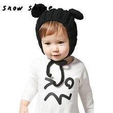 snowshine #2001 Baby Cute Keep Warm Hat Earmuffs Girl Boy Hat free shipping