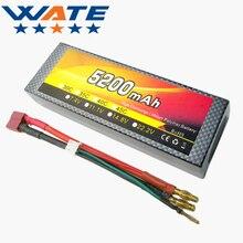 7.4 В 5200 мАч 2 S 40C литий-ионный Аккумулятор Коры модель автомобиля дистанционного управления грузовик батареи XT60 plug