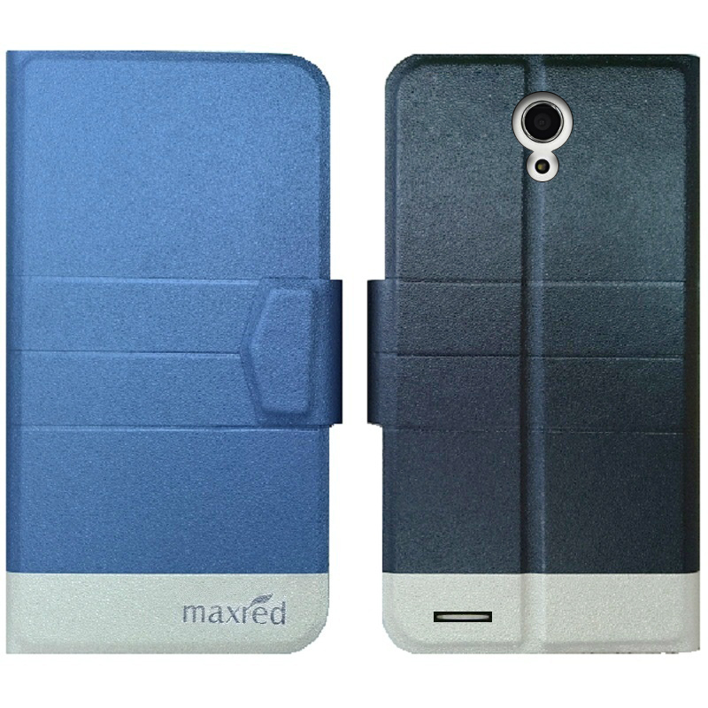 For ZTE Grand X Max 2 In Stock! Fashion PU Leather Case Cover Flip Book Style Wallet Stand Cover camera hole With Card Slot