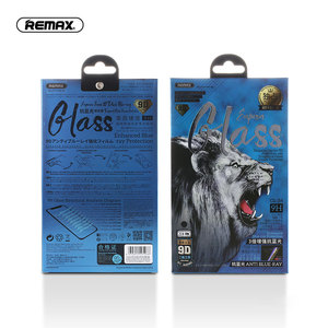 Image 5 - REMAX 9D Anti Blue Ray Tempered Glass For for iPhone X XS XR XSMA Anti Blue Light Screen Protector 9H Toughened Film