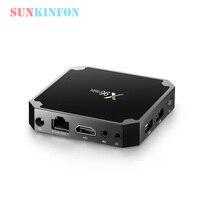 5 PCS Lot X96 Mini 1GB 8GB Android 7 1 Smart TV Box Amlogic S905W Quad