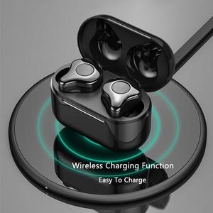 Image 5 - ايفي سماعات بلوتوث لاسلكية ربط جهازين في نفس الوقت مع تهمة مربع