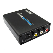 HDMI to AV/video Video Converter HDMI 2 RCA/SVIDEO+S VIDEO Switcher Adaptor 1080P HD