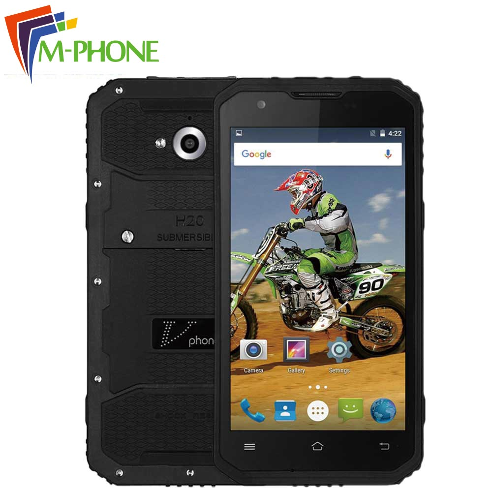 Original DTNO I Vphone M3 Mobile Phone 5 0 inch 4G 4500mAh Waterproof IP68 Android 5
