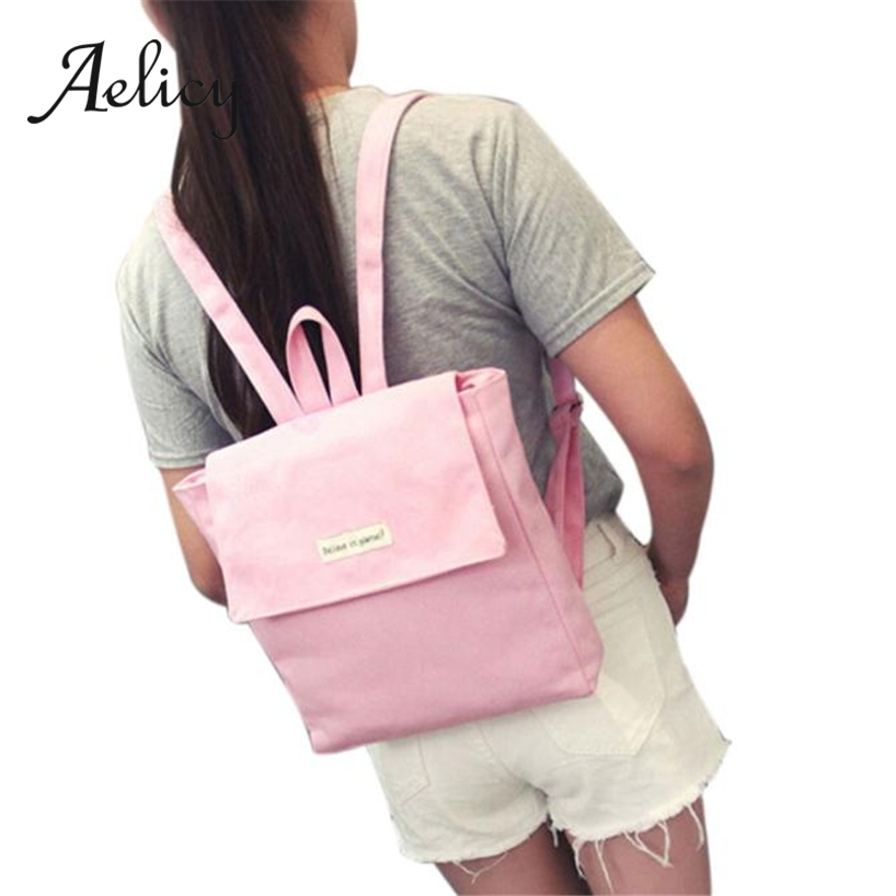Aelicy Ladies Mini Small Flip Backpack Fashion Students Canvas School Bag Women Daily Casual Outdoor Satchel Hiking Shoulder BagAelicy Ladies Mini Small Flip Backpack Fashion Students Canvas School Bag Women Daily Casual Outdoor Satchel Hiking Shoulder Bag