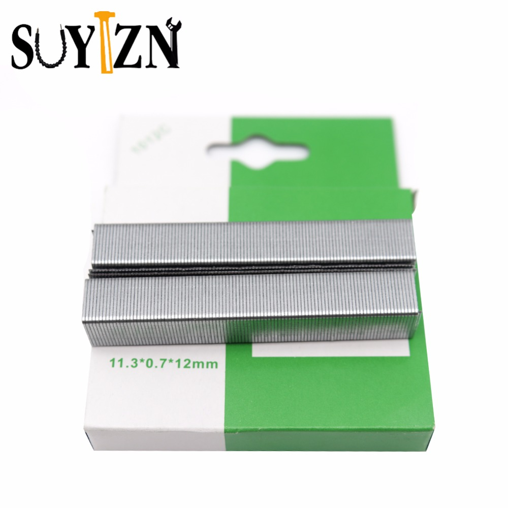 1012C Staples Size 11.3x12mm Staples For Stapler Stationary Office Bending Supplies Silver Grapas 1000Pcs ZK205