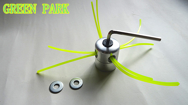 Brush cutter spare parts 4 Nylon Line Strimmer Alloy Weed Trimmer Head For Grass Cutter