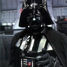 Cartel de pintura decorativa de seda gigante de película Vintage de Star Wars Darth Vader 24x36inch