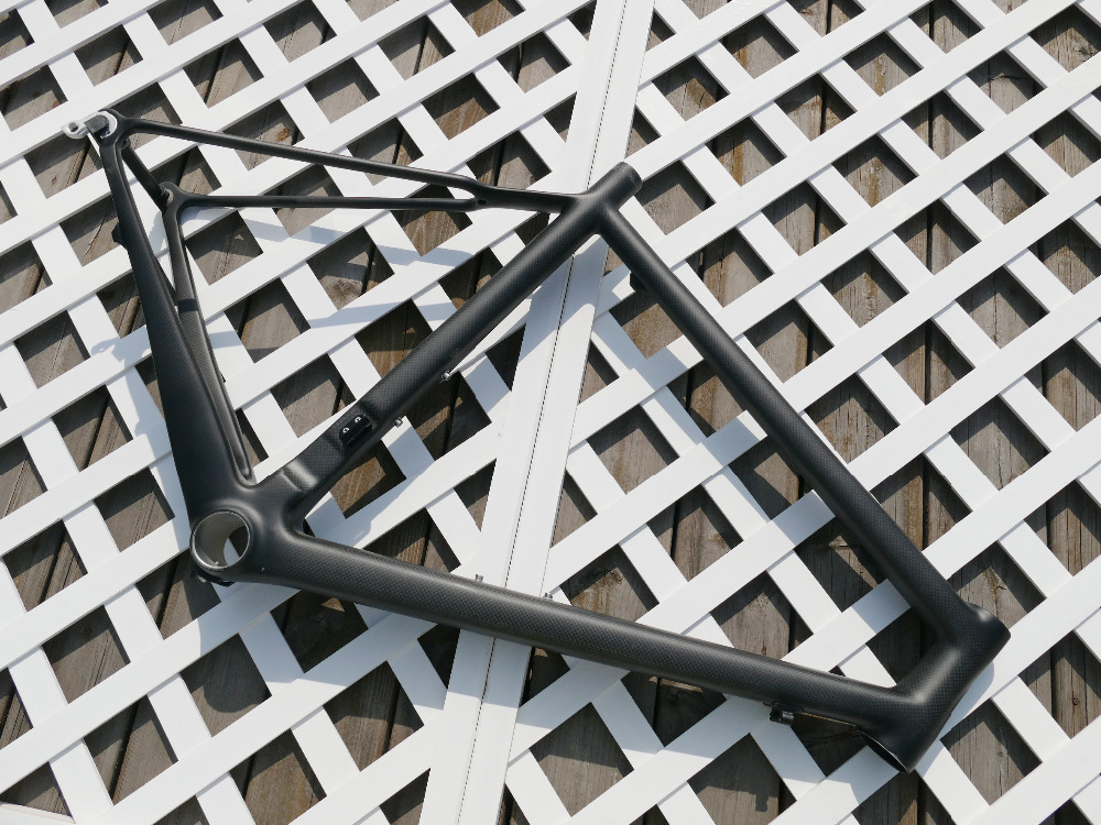 "Cheap 2019"" Toray Carbon Full Carbon Matt  Glossy Road Bike Frame Bicycle Racing Cycling Road Bike Frame 520mm 1"