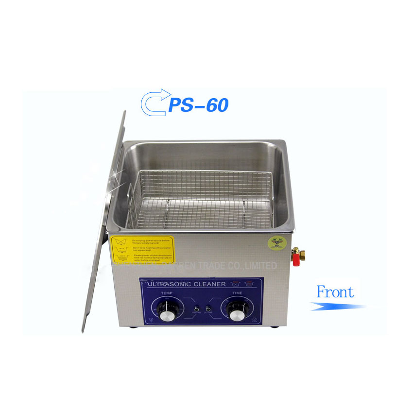 1PC ultrasonic cleaner 15L AC110/220V PS-60 clean the king of the circuit board ,metal parts cleaning equipment stainless steel 1pc 110v 220v ps 60al 360w ultrasonic cleaner 15l cleaning equipment stainless steel cleaning machine