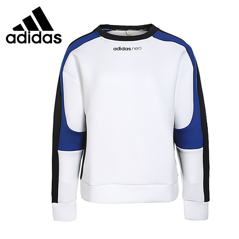 Original New Arrival 2017 Adidas NEO Label W CS SPACER SWT Womens Pullover Jerseys Sportswear
