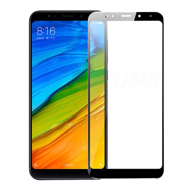 vidrio templado para Xiaomi Redmi 5 5A 5 Plus Cubierta completa 3D vidrio templado para Xiaomi Redmi 5 5A 5 Plus Note 5 Pro 5A protector de pantalla de cristal en Redmi 4 4X S2 Note 4 4X Film