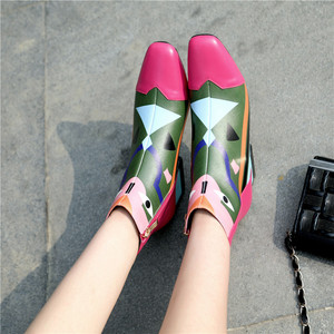 Image 5 - FEDONAS 2021 Fashion Brand Women Ankle Boots Warm High Heels Ladies Shoes Woman Party Dancing Pumps Basic Genuine Leather Boots