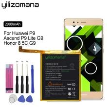 цены YILIZOMANA Original Phone Battery HB366481ECW 2900mAh For Huawei P9 Ascend /P9 Lite/ G9 /Honor 7 Lite GT3/Honor 8 Lite/Honor 5C